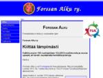 Forssan Alku ry