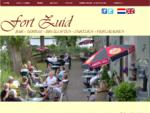 Fort Zuid Spaarndam, Café Terras Fort Zuid in Spaarndam is bedoeld voor jong en oud. Het is tevens