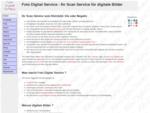 Foto Digital Service Ihr Scan Service für digitale Bilder