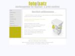 fotosatz digitale print medien die Werbeagentur aus Ostwestfalen