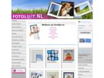Fotolijsten - » Alle formaten fotolijsten leverbaar «