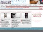 Les fours de boulangerie MAP Louis et Jacques Pavailler Constructeurs