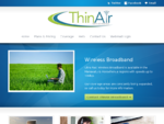 ThinAir Broadband Ltd – Wireless Broadband Internet, Manawatu, Horowhenua