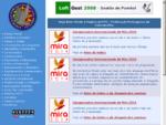 Página da Federação Portuguesa de Columbofilia