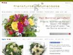 Blumen Frankfurt Blumenversand für Frankfurt am Main Frankfurter Blumenbote