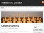Frederikssund Skakklub | Skak for alle 8211; uanset alder og spillestyrke