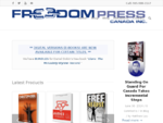 Freedom Press Canada - Conservative books. By Canadians. For Canadians.