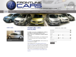 Frontline cars sell and finance quality AA Appraised imported cars and peoplemovers like Toyota, Ho