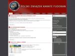 Polski Związek Karate Fudokan - Aktualności