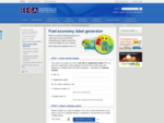 Fuel economy label generator | EECA Energy Efficiency and Conservation Authority