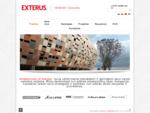 EXTERUS - Jūsų partneris renkantis fasadų apdailą, dažus ar kitas medžiagas eksterjerui bei i