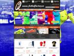 Tienda de fútbol Factory, equipaciones de fútbol, chandal, camisetas, botas y deporte en general
