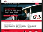 G4S | Tyverialarm, videoovervågning, brandsikring, adgangssikring, tågesikring, vagt og ...