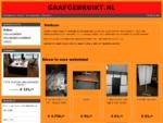 Welkom | GAAFGEBRUIKT. NL