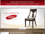 Gaj nameštaj - Proizvodnja nameštaja vrhunskog kvaliteta, klasičnog i modernog dizajna