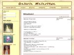 Galeria Malarstwa artyści, dzieła sztuki, wystawy, anegdoty