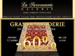 Présentation de la Galerie de tapis La Savonnerie La Savonnerie propose une collection de tapis ex