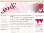Gallé - Εργαστήριο με χειροποίητες μπομπονιέρες για την βάπτιση και τον γάμο