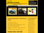 Perth Driving Schools | Driving Lessons Perth | Driving Schools Perth | Galleria Driving School