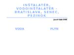 Inštalatér, Vodoinštalatér - Bratislava, Pezinok, Senec | Galovič Jozef