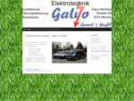 Elektrotechnik Galyo - damit´s läuft! - Elektrotechnik Galyo - damit´s läuft!