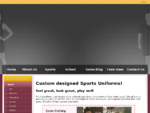 Custom Sports Uniforms | Sublimated Sportswear made in Australia | All Sports