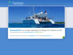 Home, Gamesail - NZ luxury yacht charter, all inclusive sailing vacation New Zealand, NZ diving,