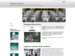 Produzione Pistoni - Gandini S. p. a. Sesto San Giovanni - MI
