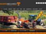 Cippatrici, trituratori e fresaceppi | Gandini Meccanica
