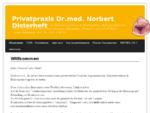 Privatpraxis Dr. med. Norbert Disterheft | Facharzt für Allgemeinmedizin, Naturheilverfahren H