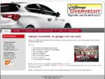 Garage Overvecht | Uw garage voor APK, Airco reparatie, inbouw audio, occasions, onderhoud en r