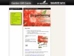 Garden Gift Cards - Buy New Zealand Garden Gift Cards Online