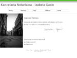 KANCELARIA NOTARIALNA - Izabela Gasin, notariusz Toruń