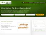 Gastro Jobs Stellenangebote Gastronomie, Hoteljobs und Tourismusstellen