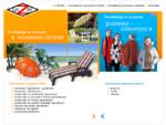 GAZBY - parasole ogrodowe, parasole reklamowe, poncza, szale, chusty, szaliki, poduszki ogrodo