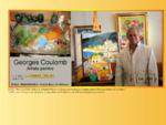 Georges COULOMB - artiste peintre provençal contemporain coloriste - peinture à l'huile au couteau -