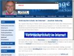 Verbraucherschutz im Internet Joachim Geburtig