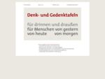 Denk- und Gedenktafeln in Berlin