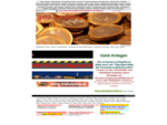 Geld anlegen, Geldanlage, Rente, Pension, Finanzberater, Finanzierung, Börseninformation, Sicherheit