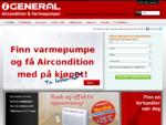 Varmepumpe for norske hjem | General Varmepumpe og Aircondition