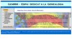 GenMir - Espai dedicat a la Genealogia