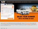 SIXT - Prenájom auta a služby