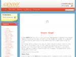 Gento| Κόλλες Pvc Gento| Αφρός Πολυουρεθάνης| Σφραγιστικά| Αντιπαγωτικά| Σιλικόνη ...