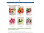 Искусственные цветы оптом и ритуальные принадлежности в интернет-магазине Геофлор
