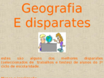 Geografia e Disparates