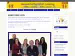 Eltern und Kinder fr den Leipziger Kindergarten