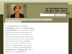 Dr. Geraldine Morrow Consultant Dermatologist