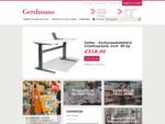 Toimistokalusteet, varastohyllyt, kuljetusvarusteet - Gerdmansnbsp; Suomi