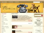 Sendaikčiai, senienos, antikvarai ir kiti vertingi daiktai - www. gerisendaikciai. lt