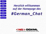 German Chat Homepage